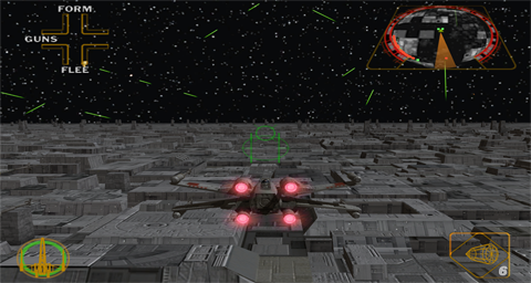 Star Wars - Rogue Squadron II - Rogue Leader (France) ISO < GCN ISOs