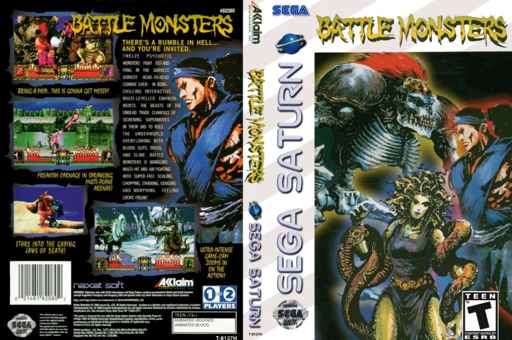 Battle Monsters (U) ISO < Saturn ISOs | Emuparadise