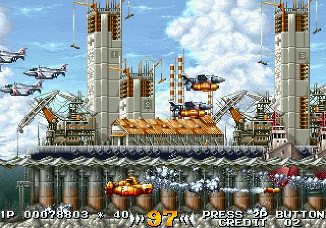 Juegos Cooperativos Ps4 Del Estilo Metal Slug O Shoot Many Robots