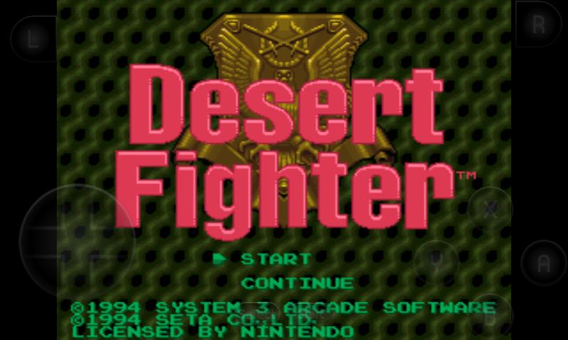 Kết quả hình ảnh cho Desert Fighter (Europe)\