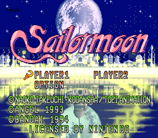 Sailormoon (France) ROM Download