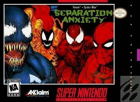 Spider Man Venom Separation Anxiety Usa Rom Snes Roms
