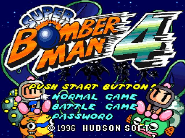 roms super bomberman 4