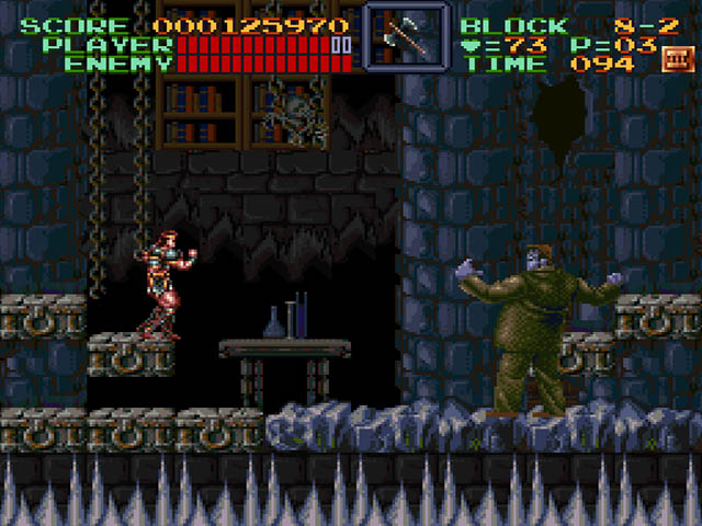 Super Castlevania IV on SNES