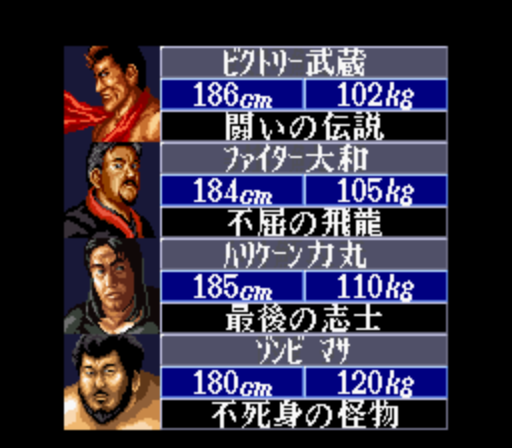 Super Fire Pro Wrestling III - Final Bout (Japan) (Rev A) ROM Download