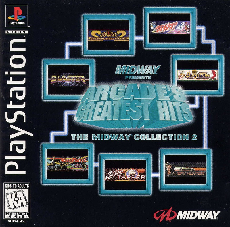 Arcade's Greatest Hits Midway 2 ISO < PSX ISOs | Emuparadise