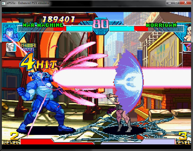 Marvel vs. Capcom - Clash of the Super Heroes ISO