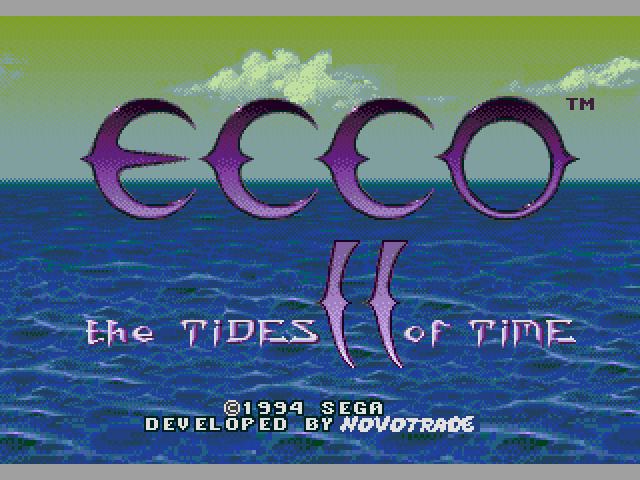 Ecco the Dolphin II (Japan) ROM < Genesis ROMs | Emuparadise
