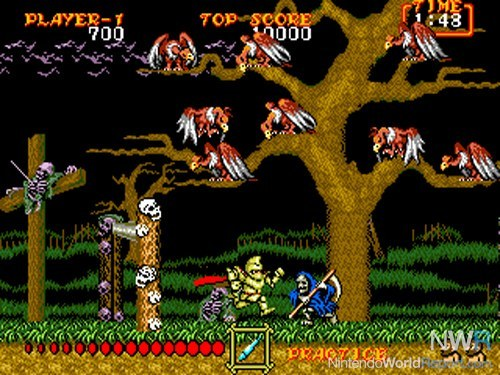 ghouls n ghosts rom nes downloads