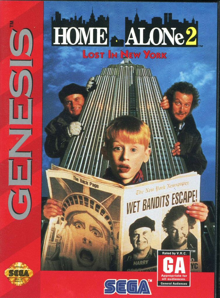 Home Alone  Game Lost In New York