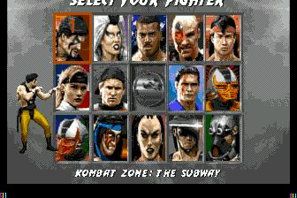 Mega rom trilogy drive ultimate kombat mortal