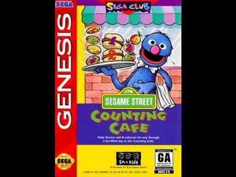 Sesame Street Counting Cafe (USA) ROM < Genesis ROMs
