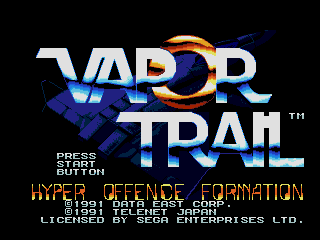 Vapor Trail (USA) ROM < Genesis ROMs | Emuparadise