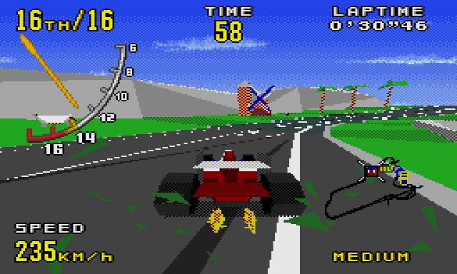 virtua racing mega drive