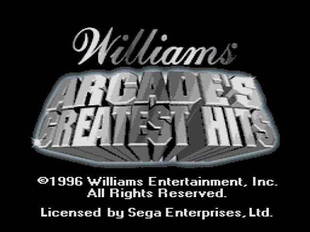 Williams Arcade's Greatest Hits (USA) ROM < Genesis ROMs | Emuparadise