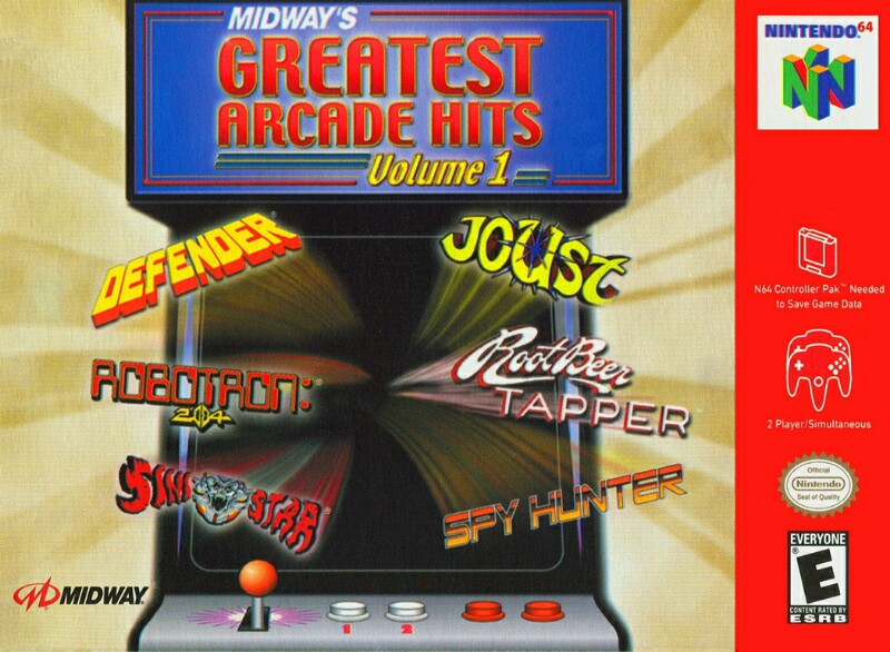 Midway's Greatest Arcade Hits Vol  1 (USA) ROM < N64 ROMs