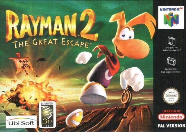 Rayman 2 The Great Escape Usa En Fr De Es It Rom