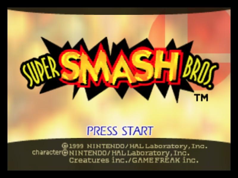 Super Smash Bros  (USA) ROM < N64 ROMs | Emuparadise