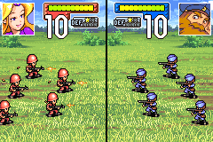 Screenshot Thumbnail / Media File 1 for Advance Wars (E)(Arrogance)