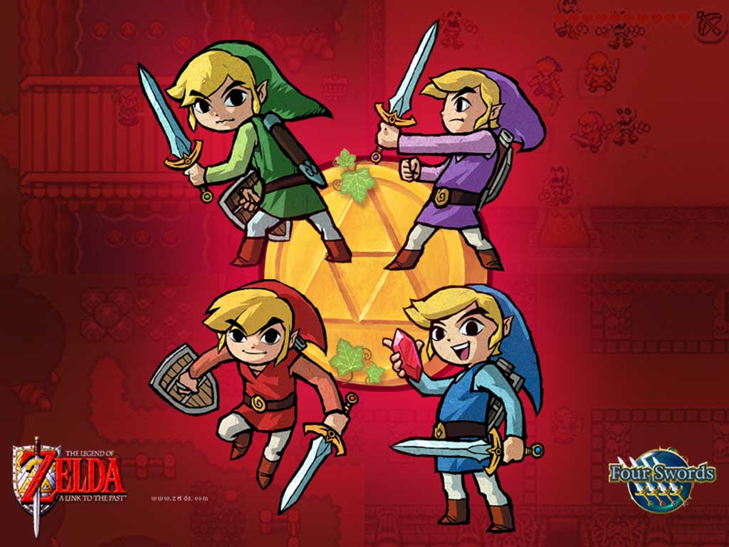 The Legend Of Zelda A Link To The Past U Mode7 Rom Gba Roms