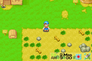 Harvest Moon - Friends of Mineral Town (U)(Mode7) ROM < GBA