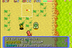 pokemon mystery dungeon team rot gba rom