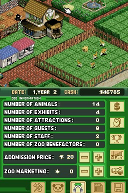 Zoo Tycoon (E)(Legacy) ROM < NDS ROMs | Emuparadise