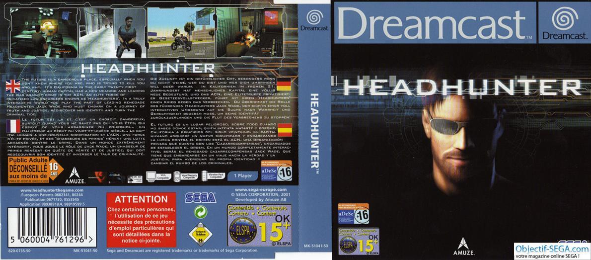 headhunter para dreamcast