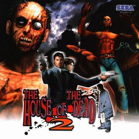 House Of The Dead 2 The Europe En Fr De Es Iso Dc Isos