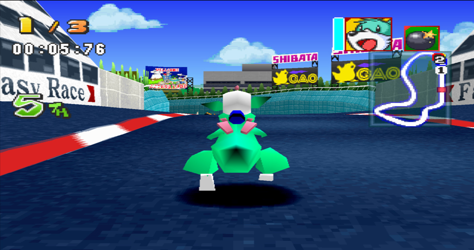 bomberman racing