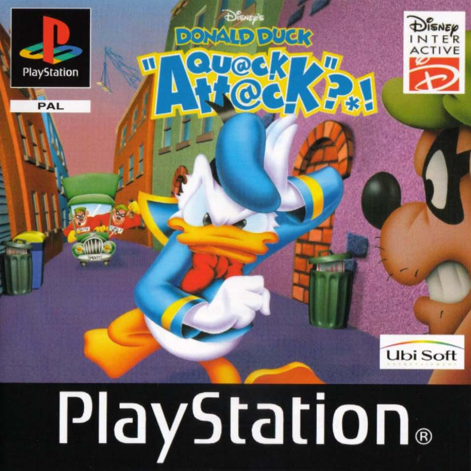 Disneys Donald Duck  Quack Attack E EnFrDeIt ISO Download