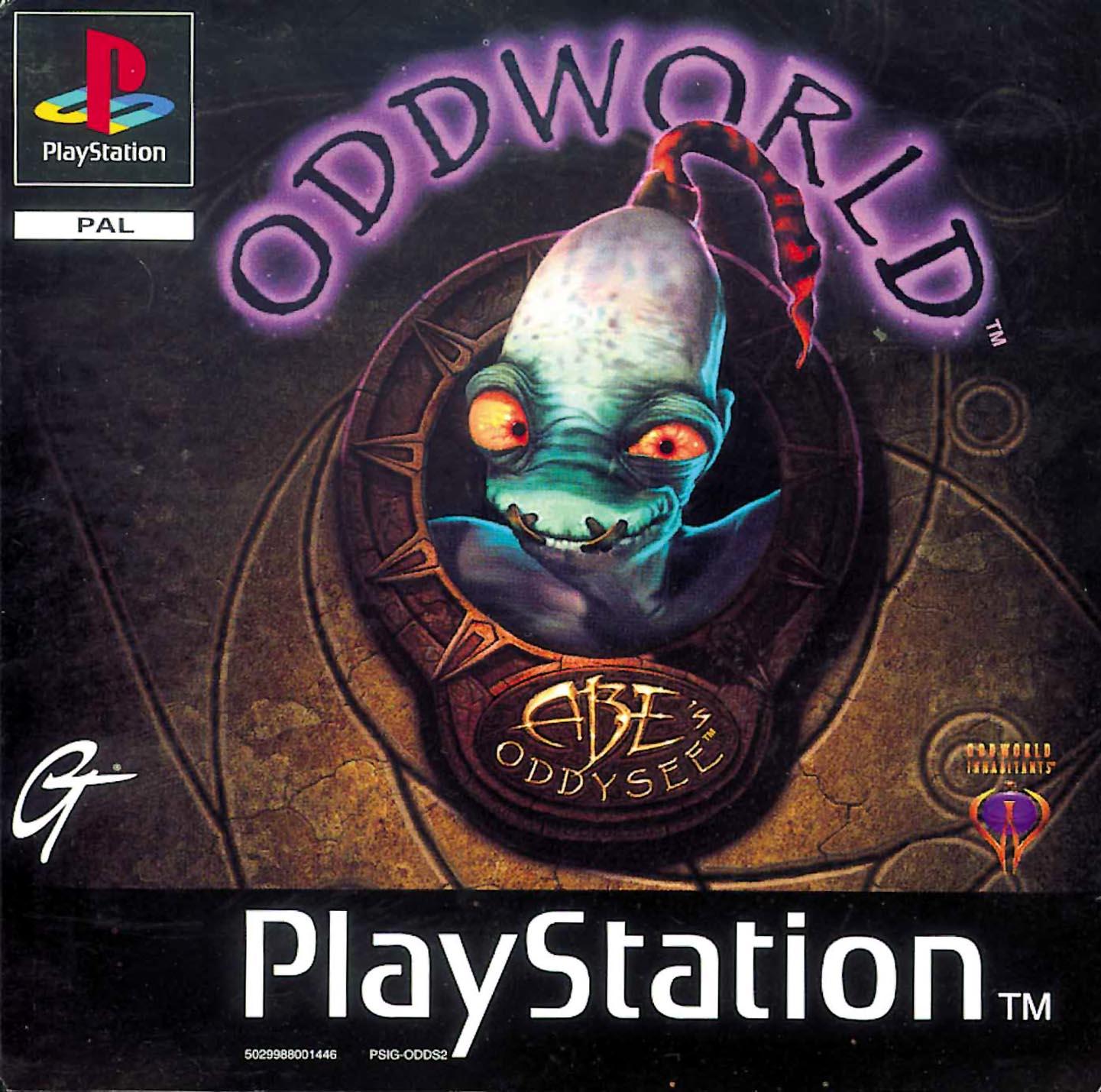 Oddworld - Abe's Oddysee (S) ISO < PSX ISOs   Emuparadise
