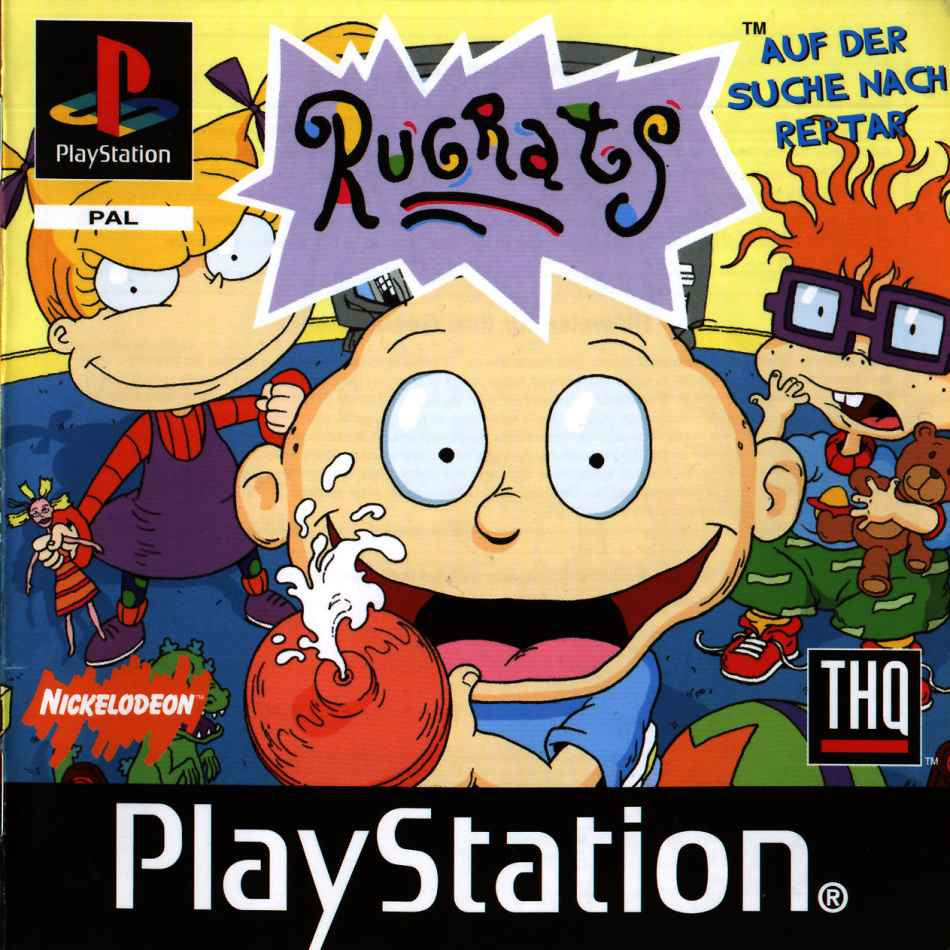how to play rugrats game dosbox