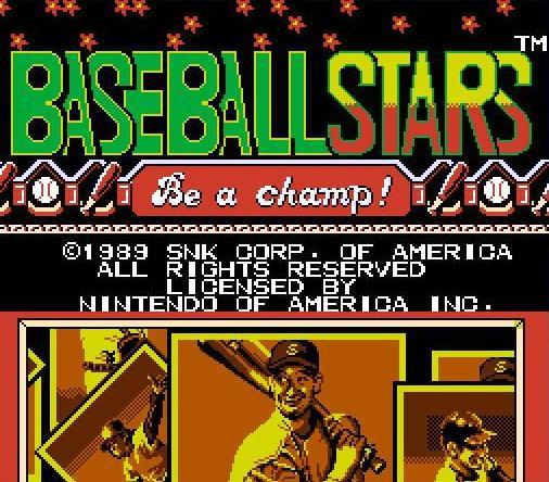 Baseball Stars USA ROM NES ROMs