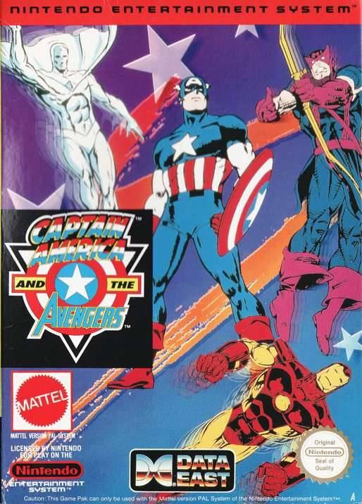 captain america and the avengers usa rom nes roms emuparadise