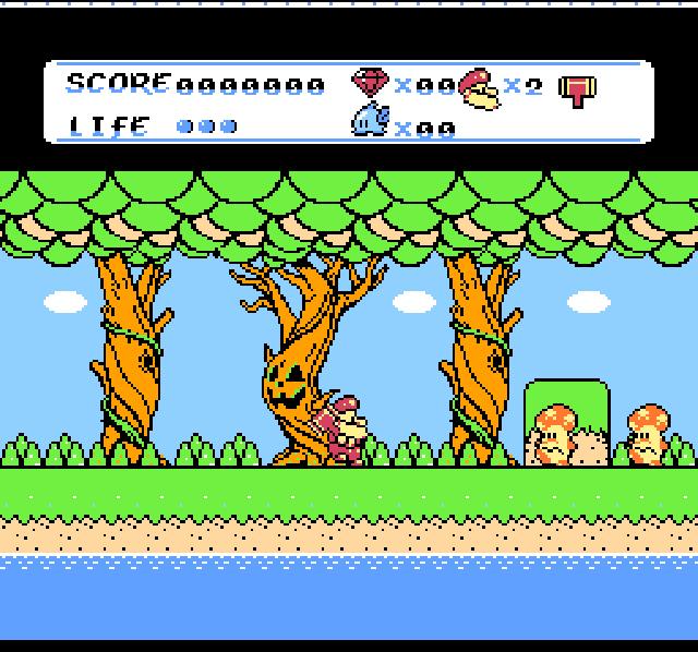 Don Doko Don 2 (Japan) ROM < NES ROMs | Emuparadise