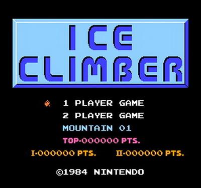 Ice Climber Usa Europe Rom Nes Roms Emuparadise