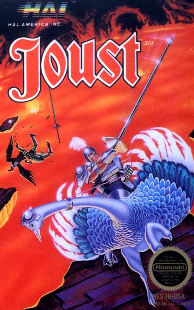 Joust game cover