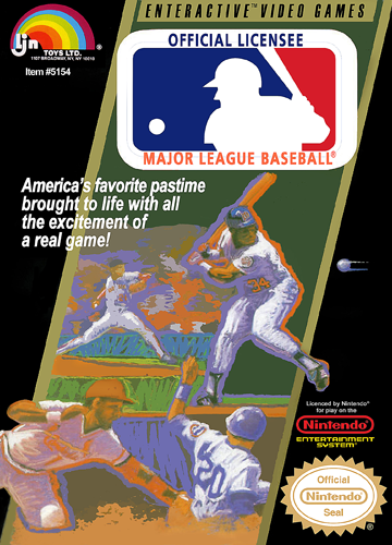 Major League Baseball USA ROM NES ROMs
