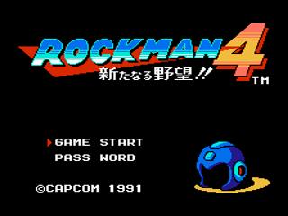 Rock man 4