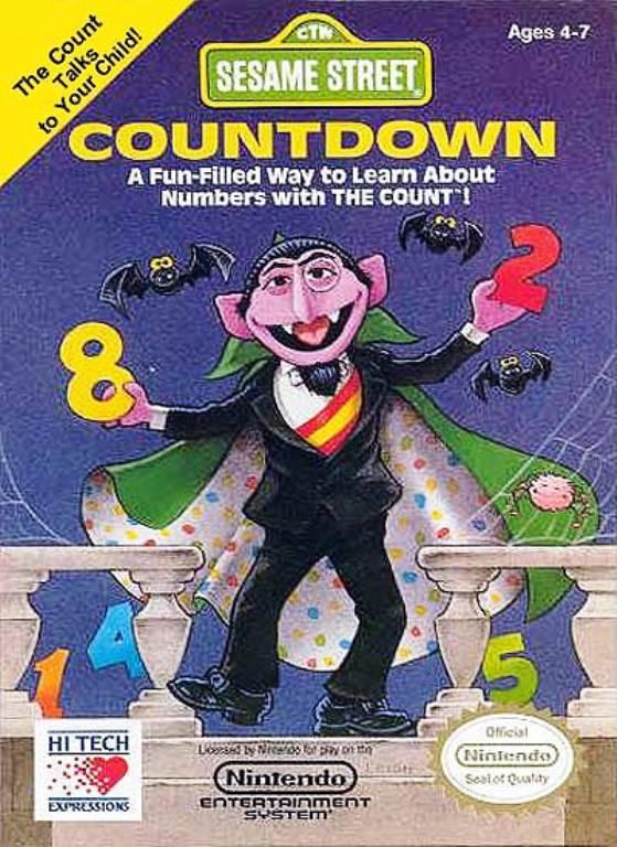Sesame Street Countdown (USA) ROM < NES ROMs | Emuparadise