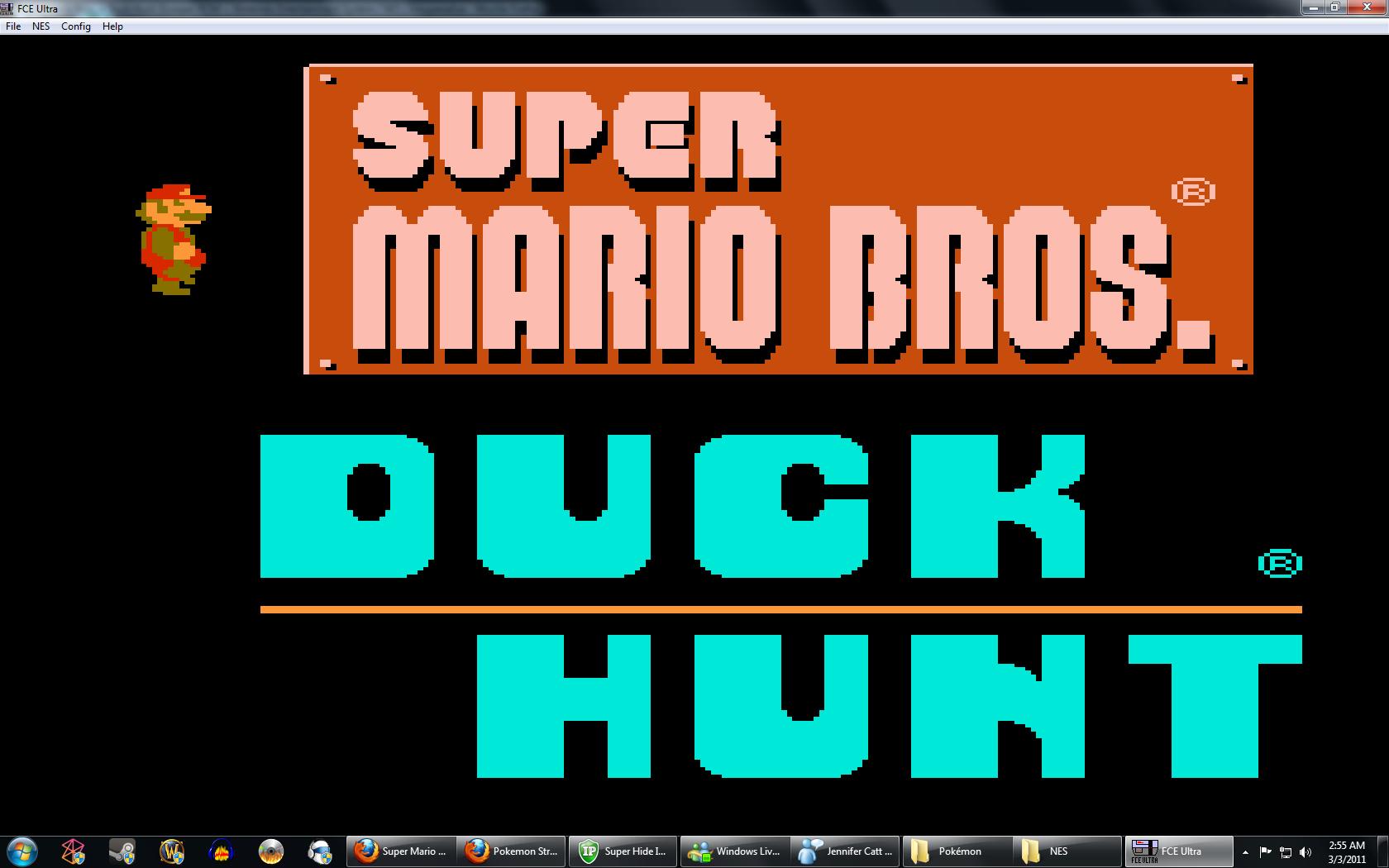 Super Mario Bros Duck Hunt Usa Rom Nes Roms Emuparadise