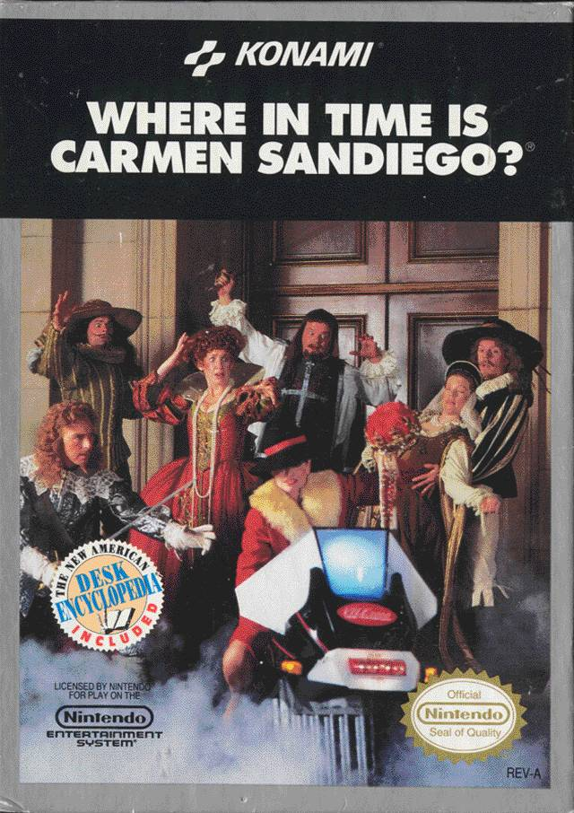 Where In Time Is Carmen Sandiego (USA) ROM