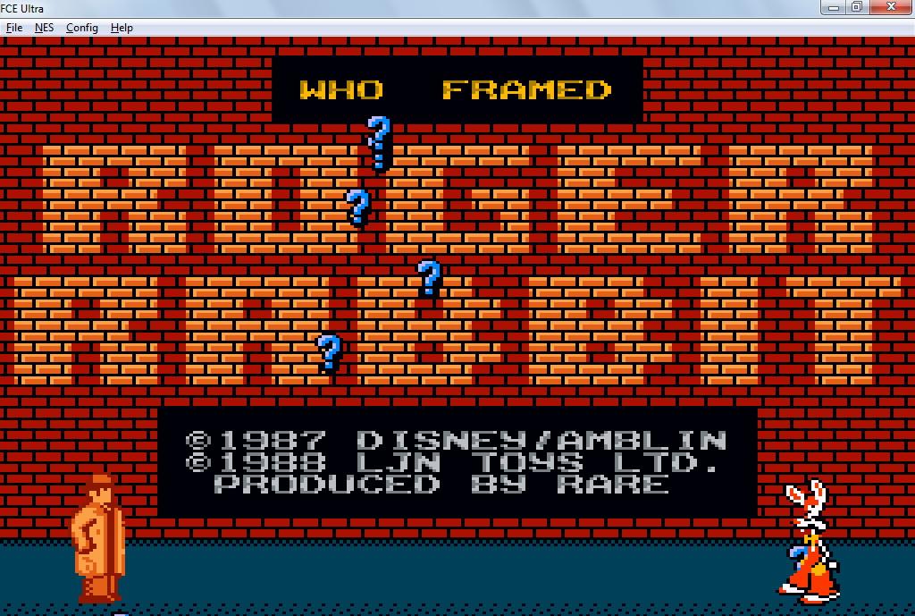 screenshot thumbnail media file 2 for who framed roger rabbit usa - Who Framed Roger Rabbit Nes