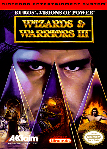 Wizards warriors iii kuros visions of power usa rom for Wizards warriors