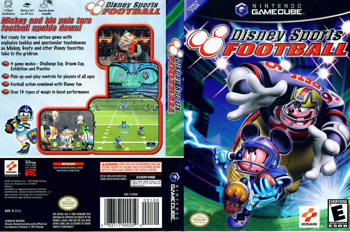 Disney Sports Football Iso