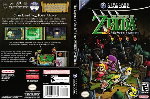 the legend of zelda four swords adventures iso gcn isos emuparadise