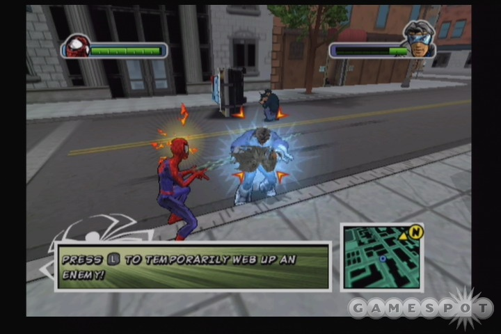 Ultimate Spider-Man ISO < GCN ISOs | Emuparadise