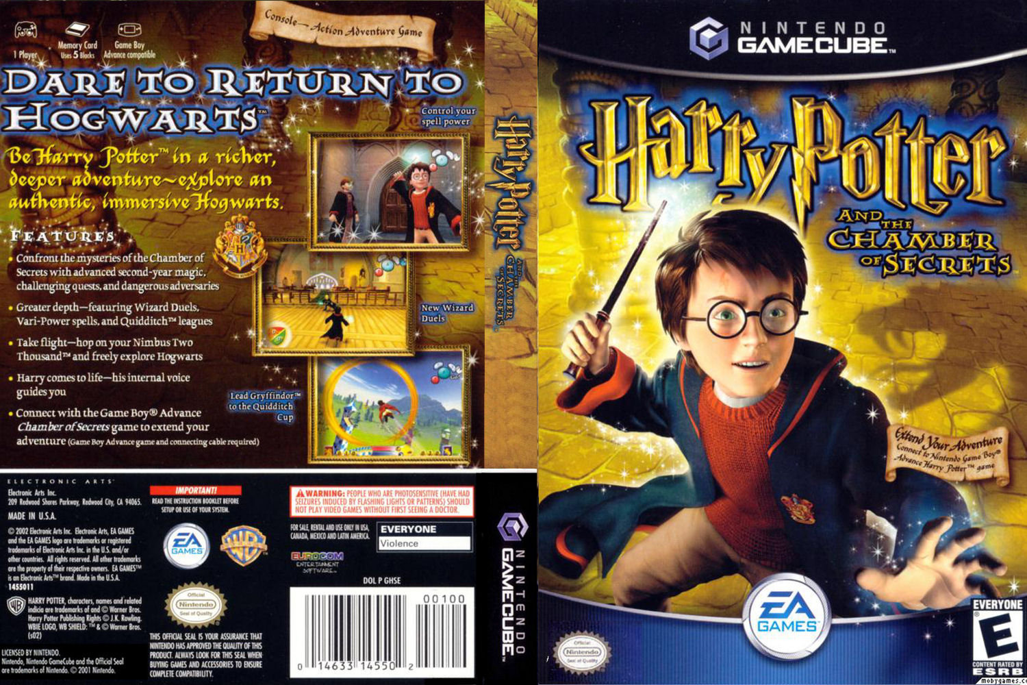Harry Potter And The Chamber Of Secrets ISO < GCN ISOs | Emuparadise