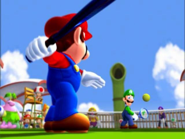 Mario Power Tennis (Europe) (Fr,It) ISO < GCN ISOs   Emuparadise